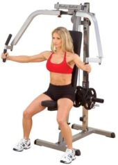 seated fly chest machine